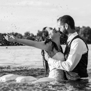 after Wedding Shooting am See
